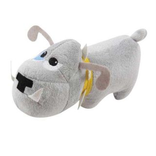 Dog Tough Dog Bull Squeaker Puppy Toy Pet Pup Chew Rope Toys Soft Plush
