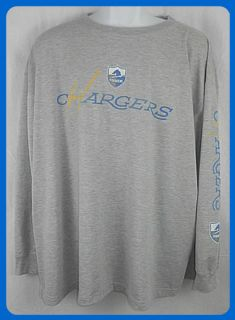 San Diego Chargers NFL Throw Back Long Sleeve Shirt