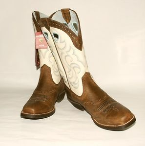 Ariat Ladies 10006885 Rawhide Square Toe Western Boot