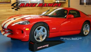 "56"" Sports Car Service Race Ramps Mustang Auto Stands"