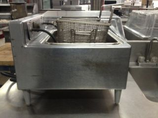 Used Hobart Electric Table Top Commercial Deep Fryer HK3 15 lbs Capacity