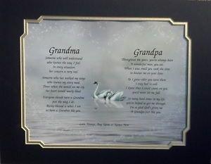 Grandma Grandpa Personalized Poems Christmas Gift