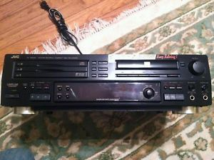 JVC XL R5000 CD CDR Multiple Disc Recorder as Is for Parts or Repair not Working