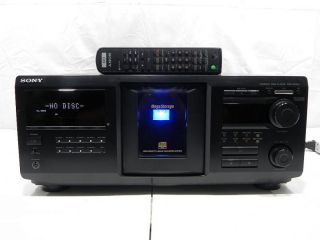 Sony Megastorage CDP CX455 400 CD Disc Player Changer with Remote