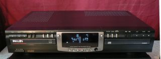 Philips CDR 765 Twin Drawer Compact Disc CD Recorder
