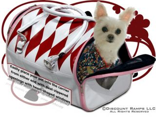 New Designer Dog Pet Carrier Tote Bag Yorkie Chihuahua