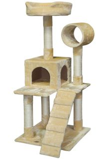 "Gopetclub 50"" Cat Tree House Toy Condo Pet Furniture Bed F75"