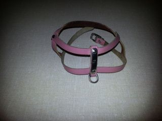 Used Pink Harness for Small Dog