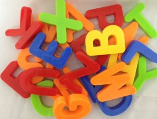 "First Classroom 52 Magnetic Uppercase Capital Alphabet Letters 1 5"" New"