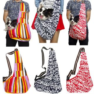 3 Colors Oxford Cloth Sling Pet Dog Cat Carrier Tote Single Shoulder Bag s M L