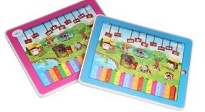 Y Pad Fun Farm English Learning Touch Tablet Educational Child Kid Baby Toy