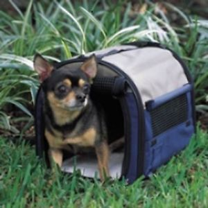 New Petmate Mini Small Dog Portable Pet Home Carrier Soft Carry Case Taxi Crate