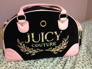 Authentic Juicy Couture Pet Carrier Small Dog or Cat