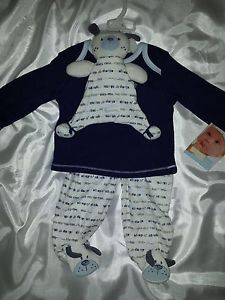 Boys 6 Months 2 Piece Set with Toy Vitamins Baby Brand