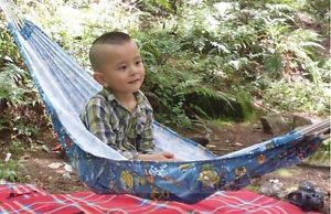 Outdoor Camping Family Travel Canvas Child Baby Kid Hammock Swing
