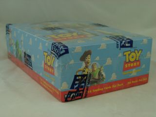 Disney's Toy Story Trading Cards Box 1995 Skybox Factory SEALED