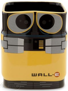 Pixar Wall·E and Eve Ceramic Mug Set Coffee Cup Robot Walle New