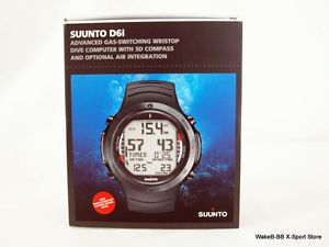 Suunto D6I Dive Diving Computer Watch Limited All Black w Free USB Cable New