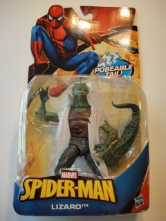 Marvel Spider Man Classic Heroes Lizard Action Figure RARE