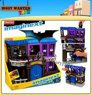 New Imaginext DC Super Friends Batman Gotham City Jail Playset Figures