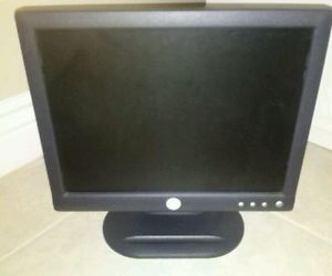 "Dell E153FPF 15"" inch Flat Screen LCD Computer Monitor with VGA and Power Cable"