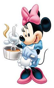 Minnie Cooking Cartoon Wall Sticker Vinyl Wall Art Decals Kids Boy Room Decor
