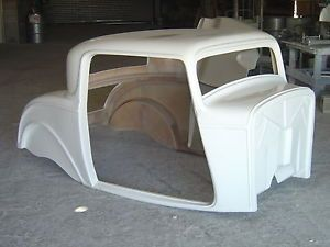 1932 Ford 3 Window Coupe Fiberglass Complete Body Kit
