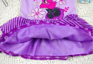 Girl Minnie Mouse Princess Top Dress T Shirt 0 7Y Party Costume Skirt Tutu Gift