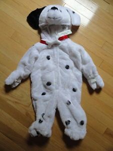Authentic Kids Plush Halloween Costume Baby Toddler Boys Girls Puppy Dog 9M