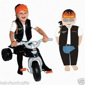 Am PM Kids Baby Infant Toddler Biker Dude Halloween Costume 28012