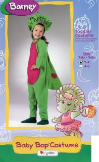 New Disguise 4 5 6 Barney Baby Bop Halloween Dress Up Costume Toddler Girl