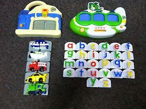 LeapFrog Fridge Phonics Consoles Wash N Go Airplane with Lower Case Letters