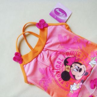 Minnie Mouse Girl Baby Swimsuit Tankini Sz 2 4 6 8 Y