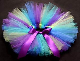 Purple Party Costume Ballet Dancing Girl Toddler Child Baby Tutu Skirt O 5yrs