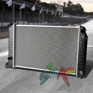Aluminum Core Replacement Radiator 95 98 Chevy S10 GMC Sonoma 2 2L Auto At