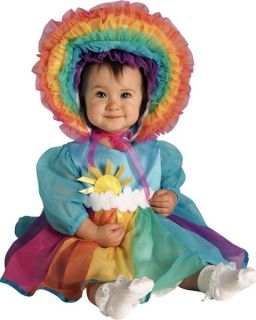 Rainbow Baby Infant Fancy Dress Up Girls Costume If