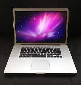 "Apple MacBook Pro 17"" Laptop Intel 2 66 Core i7 Solid State Hard Drive"