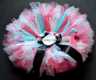 Watermelon Red Girl Toddler Baby Wedding Dressy Party Costume Tutu Skirt 0 5T