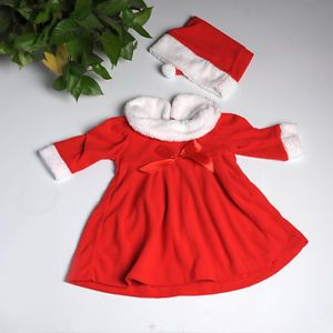 Kid Baby Toddler Santa Christmas Xmas Party Clothes Suit Pajama Costume Cosplay