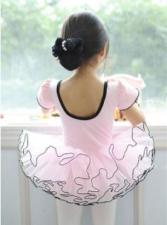 Girls Party Ballet Dance Tutu Fairy Dress Costume Skirt 3 8Y 2 Color on Sale