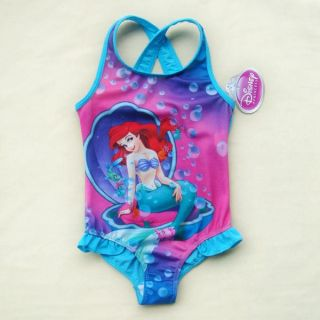 Girls Princess Ariel Mermaid Swimming Costume Swimsuit Bathing Suit 2 7 Years