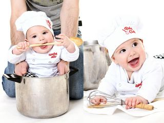 Baby Boy Chef Cook Fancy Dress Complete Outfit Costume Photo Prop Party Gift Top