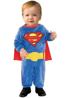 Superman Super Hero Infant Toddler Halloween Costume