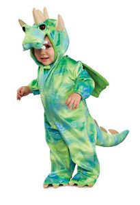 Infant Toddler Childs Dinosaur Dragon Halloween Costume Jumpsuit Childrens Kids