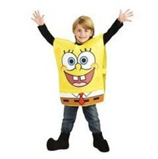 Spongebob Squarepants Sponge Bob Costume Child