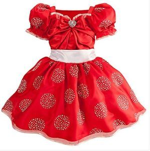 New 4 Toddler  Limited Edition Minnie Mouse Red Costume 1 of 1500