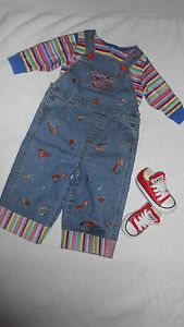 Super RARE Baby Boy Toddler Childs Play Chucky Doll Costume Size 9 12 18 Months