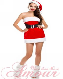 Adult Women Velvet Santa Baby Xmas Christmas Dress Costume O s Variety Styleso S