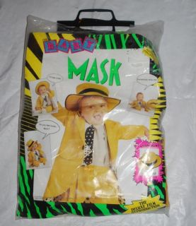 The Mask Jim Carrey Halloween Costume Baby Toddler 12 18 Months Deluxe Film Repr