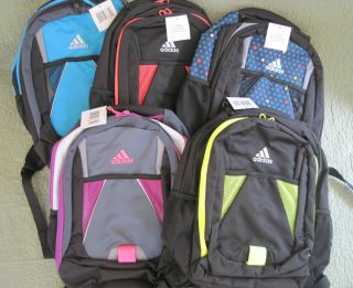 Adidas Dillon Academic Kids Boy Girl Backpack Bag New with Tags Retail $40